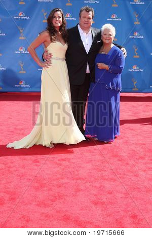 LOS ANGELES - AUG 29:  Eric Stonestreet, girlfriend, mom arrive at the 2010 Emmy Awards at Nokia Theater at LA Live on August 29, 2010 in Los Angeles, CA