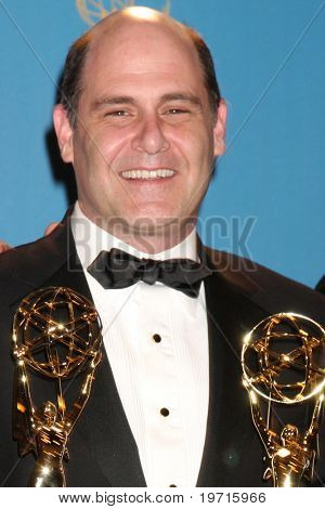 LOS ANGELES - AUG 29:  Matthew Weiner in the Press Room at the 2010 Emmy Awards at Nokia Theater at LA Live on August 29, 2010 in Los Angeles, CA