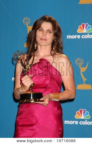 LOS ANGELES - AUG 29:  Julia Ormond in the Press Room at the 2010 Emmy Awards at Nokia Theater at LA Live on August 29, 2010 in Los Angeles, CA