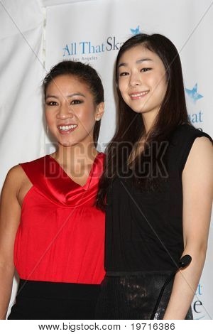 LOS ANGELES - SEP 7:  Michelle Kwan & Yuna Kim at the