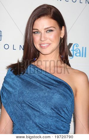 LOS ANGELES - SEP 13:  Adrianne Palicki arrives at the 2010 FOX Fall Eco-Casino Party at Boa Resturant on September 13, 2010 in W. Los Angeles, CA