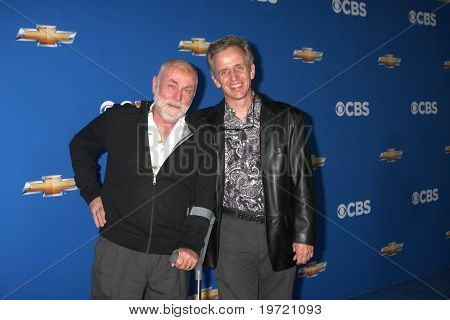 LOS ANGELES - SEP 16:  Robert David Hall & Robert Joy arrive at the CBS Fall Party 2010 at The Colony on September 16, 2010 in Los Angeles, CA