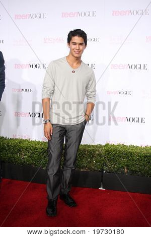 LOS ANGELES - OCT 1:  BooBoo Stewart arrives at the 8th Teen Vogue Young Hollywood Party - Red Carpet at Paramount Studios on October 1, 2010 in Los Angeles, CA