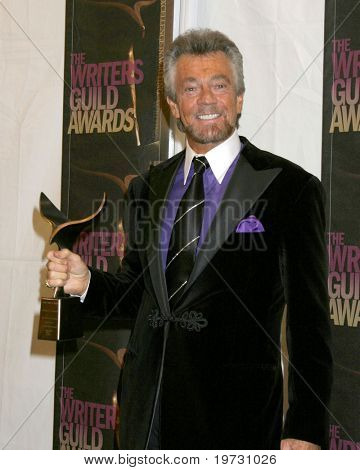 LOS ANGELES - FEB 4:  Stephen J. Cannell.  at the Writers Guild Awards  at the Hollywood Palladium on February 4, 2006 in Los Angeles, CA
