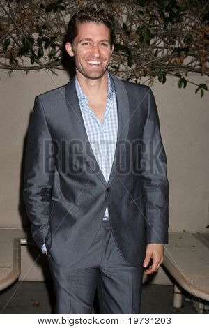 """LOS ANGELES - OCT 4:  Matthew Morrison arrives at """"Broadway Tonight!  An Evening of Song & Dance""""  at Alex Theater on October 4, 2010 in Glendale, CA"""