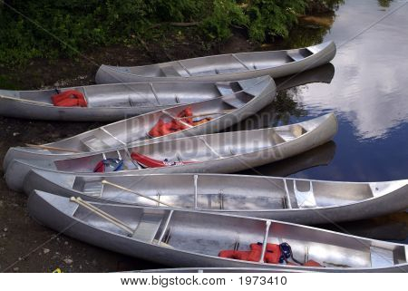 Six Canoes