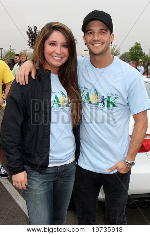 LOS ANGELES - OCT 16:  Bristol Palin, Mark Ballas at the Habitat for Humanity San Fernando/Santa Clarita Valley's