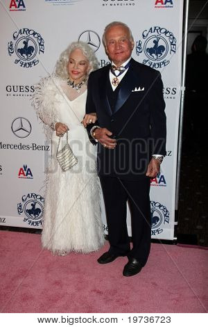 LOS ANGELES - OCT 23:  Lois Aldrin, Buzz Aldrin arrives at the 2010 Carousel of Hope Ball at Beverly Hilton Hotel on October 23, 2010 in Beverly Hills, CA