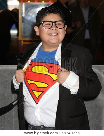 LOS ANGELES - OCT 30:  Rico Rodriguez arrives at the