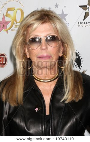 LOS ANGELES - NOV 3:  Nancy Sinatra arrives at the Hollywood Walk of Fame 50th Anniversary Celebration at Hollywood & Highland on November 3, 2010 in Los Angeles, CA