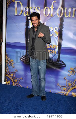 LOS ANGELES - NOV 6:  Brandon Beemer arrives at the Days of Our Lives 45th Anniversary Party at House of Blues on November 6, 2010 in West Hollywood, CA