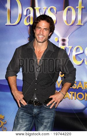 LOS ANGELES - NOV 6:  Shawn Christian arrives at the Days of Our Lives 45th Anniversary Party at House of Blues on November 6, 2010 in West Hollywood, CA