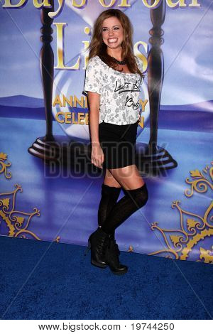 LOS ANGELES - NOV 6:  Molly Burnett arrives at the Days of Our Lives 45th Anniversary Party at House of Blues on November 6, 2010 in West Hollywood, CA