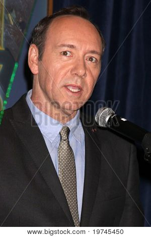 LOS ANGELES - NOV 9:  Kevin Spacey at the Hollywood Foreign Press Association's (HFPA) Cecil B. DeMille Award Recipient Announcement at Four Season's Hotel on November 9, 2010 in Beverly Hills, CA