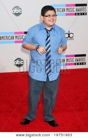 LOS ANGELES - NOV 21:  Rico Rodriguez arrives at the 2010 American Music Awards at Nokia Theater on November 21, 2010 in Los Angeles, CA