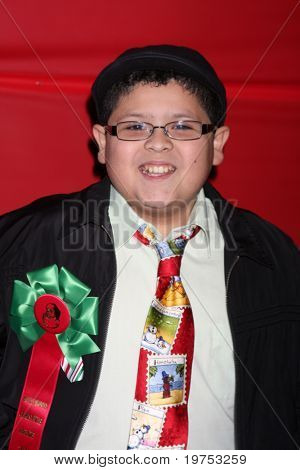 LOS ANGELES - NOV 28:  Rico Rodriguez arrives at the 2010 Hollywood Christmas Parade at Hollywood Boulevard on November 28, 2010 in Los Angeles, CA