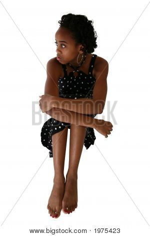 Beautiful Fifteen Year Old Teen In Dress