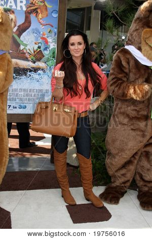 "LOS ANGELES - DEC 11:  Kyle RIchards arrives at the ""Yogi Bear 3-D"" Premiere at The Village Theater on December 11, 2010 in Westwood, CA."