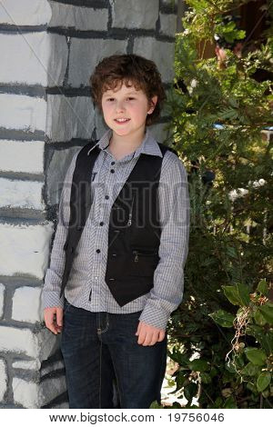 LOS ANGELES - DEC 11:  Nolan Gould arrives at the