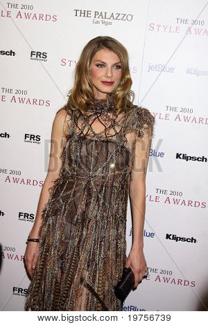 LOS ANGELES - DEC 12:  Angela Lindvall arrives at the 2010 Hollywood Style Awards at Billy Wilder Theater at the Hammer Museum on December 12, 2010 in Westwood, CA.
