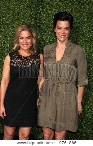 LOS ANGELES - JAN 6:  Cat Cora & Wife Jennifer Cora arrives at the Oprah Winfrey Network Winter 2011 TCA Party at The Langham Huntington Hotel on January 6, 2011 in Pasadena, CA.