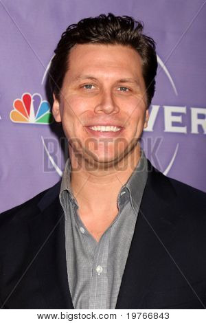 PASADENA, CA - JAN 13: Hayes MacArthur at the NBC TCA Winter 2011 Party at Langham Huntington Hotel on January 13, 2010 in Pasadena, CA