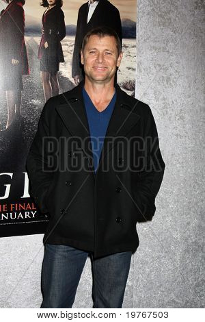 LOS ANGELES - JAN 12:  Grant Show arrives at the