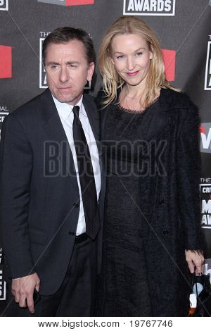 LOS ANGELES - JAN 14: Tim Roth and Nikki Butler arrive at the 16th Annual Critics' Choice Movie Awards at Hollywood Palladium on January 14, 2011 in Los Angeles, CA