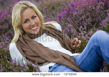 Belleza en el brezal