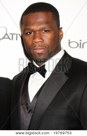 LOS ANGELES - JAN 15:  Curtis Jackson aka 50 Cent arrives at the Art Of Elysium 'Heaven' Gala 2011 at The California Science Center Exposition Park  on January 15, 2011 in Los Angeles, CA