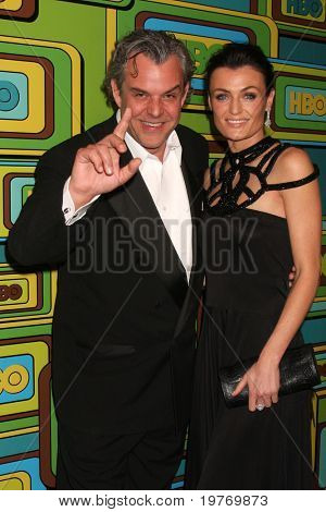 BEVERLY HILLS - JAN 16: Danny Huston arrives at the HBO Golden Globe Party 2011 at Circa 55 at the Beverly Hilton Hotel on January 16, 2011 in Beverly Hills, CA