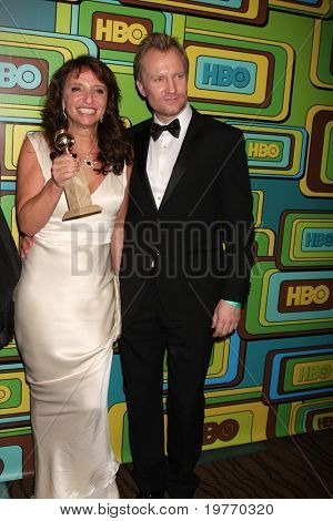 BEVERLY HILLS - JAN 16: Susanne Bier; Ulrich Thomsen arrives at the HBO Golden Globe Party 2011 at Circa 55 at the Beverly Hilton Hotel on January 16, 2011 in Beverly Hills, CA