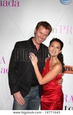 LOS ANGELES - JAN 18:  Sean Covel, Alexa Vega arrives at