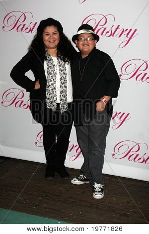 SANTA MONICA, CA - JAN 19: Raini Rodriguez, Rico Rodriguez (Boy) arrives at Cody Simpson's 14th Birthday Party at Pacific Park at Santa Monica Pier on January 19, 2011 in Santa Monica, CA