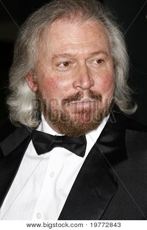 LOS ANGELES - JAN 22:  Barry Gibb arrives at the 2011 G'Day USA Australia Week LA Black Tie Gala at Hollywood Palladium on January 22, 2011 in Los Angeles, CA