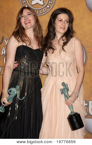 LOS ANGELES - JAN 30:  Kelly Macdonald; Aleksa Palladino in the Press Room at the 2011 Screen Actors Guild Awards  at Shrine Auditorium on January 30, 2011 in Los Angeles, CA
