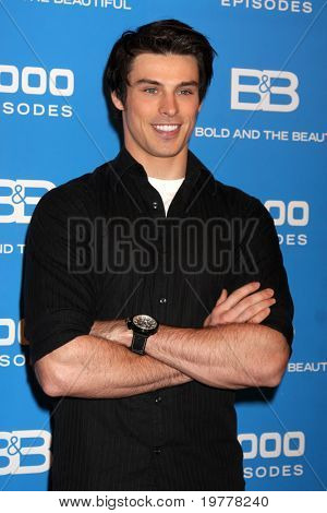 LOS ANGELES - FEB 7:  Adam Gregory at the 6000th Show Celebration at The Bold & The Beautiful at CBS Television City on February 7, 2011 in Los Angeles, CA