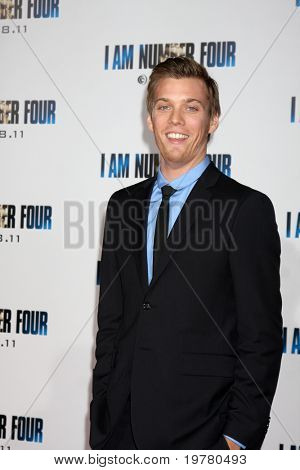 LOS ANGELES - FEB 9:  Jake Abel arrives at the