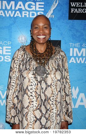 LOS ANGELES - FEB 12:  Dee Dee Bridgewater arrives at the 2011 NAACP Image Awards Nominee Reception at Beverly Hills Hotel on February 12, 2011 in Beverly Hills, CA