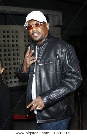 LOS ANGELES - FEB 10:  Martin Lawrence arrives at the