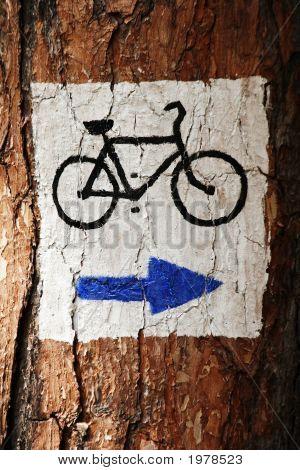 Symbol Of Touristic Route
