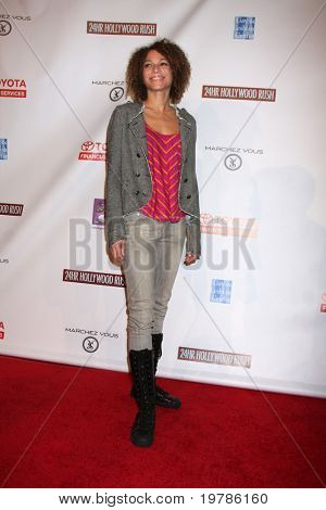LOS ANGELES - FEB 20:  Fay Wolf arrives at the 24 Hour Hollywood Rush at Ebell Theater on February 20, 2011 in Los Angeles, CA