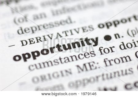 Definition Of Opportunity