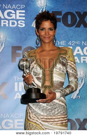 LOS ANGELES -  4: Halle Berry in the Press Room of the 42nd NAACP Image Awards at Shrine Auditorium on March 4, 2011 in Los Angeles, CA