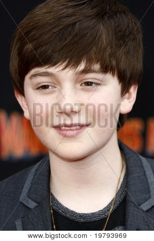 LOS ANGELES - MARCH 6: Greyson Chance arrives at the