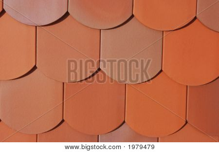 Roof Made Of Plain Tiles