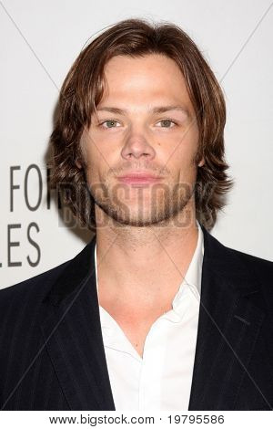 "LOS ANGELES - MAR 13:  Jared Padalecki arrives at the ""Supernatural"" PaleyFest 2011 at Saban Theatre on March 13, 2011 in Beverly Hills, CA"