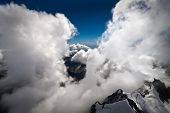 Between Clouds in New Zealand