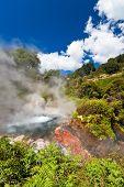 Steaming Geothermal Pool