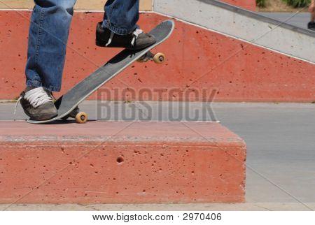 Skateboard Grind